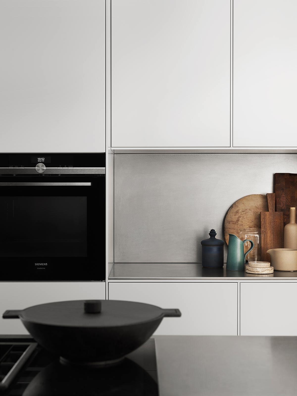 Kjøkkenskap uten håndtak