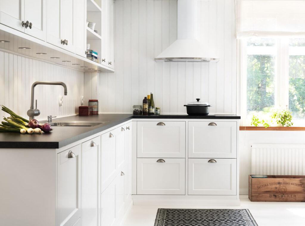 Nordisk hvitt kjøkken