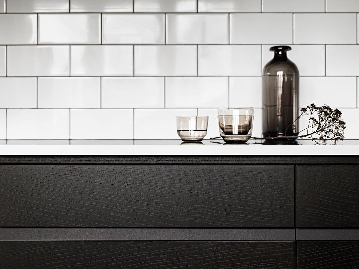 Mørkebrunt kjøkken fra Drømmekjøkkenet